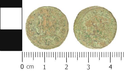 WMID-17E351: Post Medieval token: Trade token of uncertain issuer