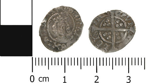 WMID-2288E7: Medieval coin: Half penny of Henry VI, Heavy Coinage