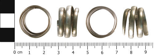WMID-24AB05: Unknown: Spiral finger ring
