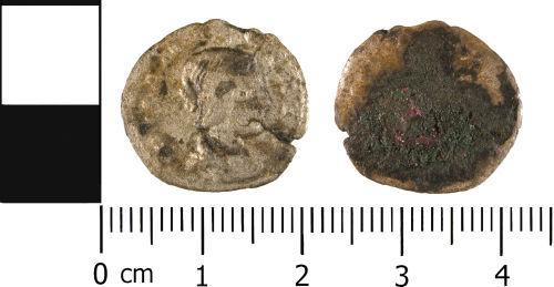 WMID-3A24F1: WMID-3A24F1: Roman coin: Denarius of uncertain Empress