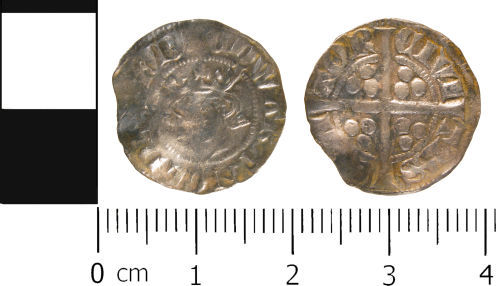 WMID-804712: Medieval coin: Penny of Edward II, Canterbury Mint