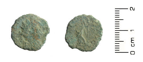 WMID-828824: Roman coin: possible contemporary copy of a radiate of Carausius (c. 286-293)
