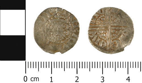 WMID-C66FD8: Medieval coin: Penny of Henry III, mint Winchester, moneyer Nicole