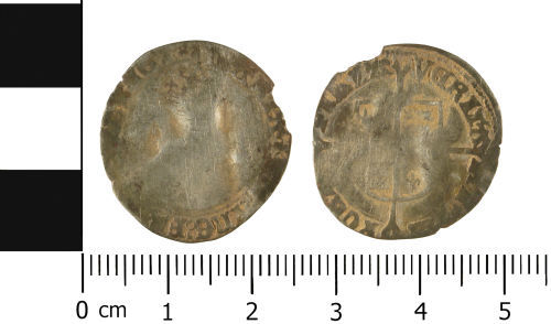 WMID-D83211: Post Medieval coin: Groat of Mary I