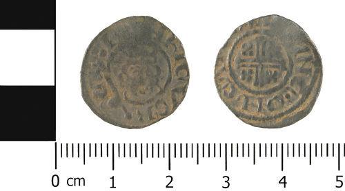 WMID-D86CC8: Medieval coin: Penny of John
