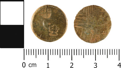 WMID-DEA514: Post medieval: Coin weight or possible trade weight