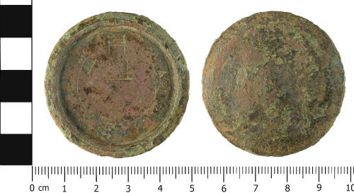 WMID-FB7501: Post Medieval: Complete trade weight