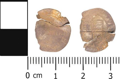 WMID-07EF87: Post Medieval coin: Half groat of Elizabeth I