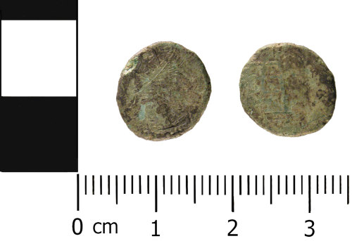 WMID-0AE4BC: Roman coin: Contemporary copy (barbarous) of a radiate of Divus Claudius issue