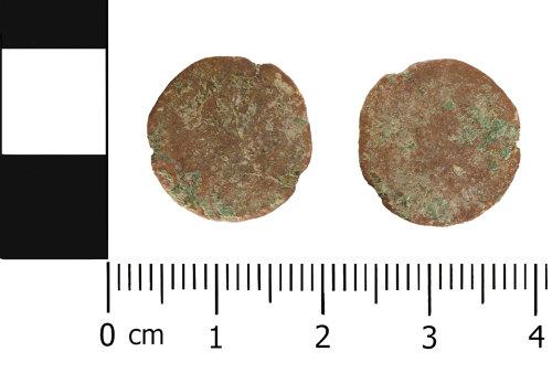 WMID-0B0D15: Roman coin; Nummus of uncertain Emperor