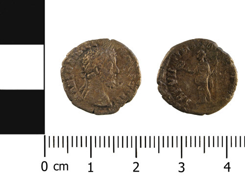 WMID-1BAAEE: Roman coin: Denarius possibly of Commodus