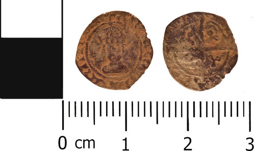 WMID-273FD4: Medieval coin: Halfpenny of Henry VII