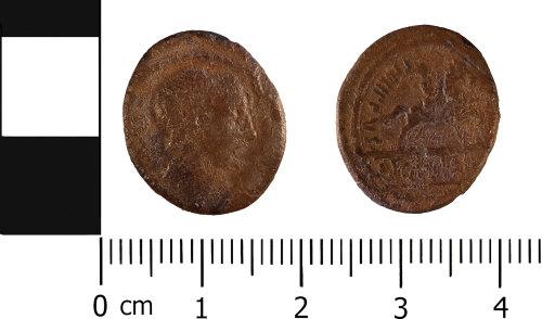 WMID-2A2337: Roman coin: Republican denarius of L. Marcus Philippus