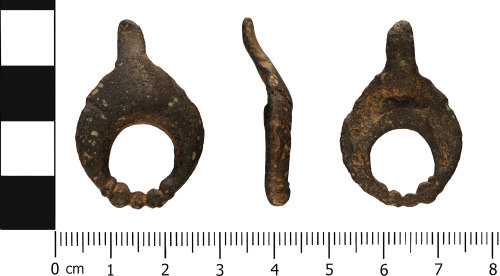 WMID-2A5C72: Early Roman: Incomplete lunate apron or harness