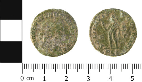 WMID-5EA608: Roman coin: Nummus of Constantine I