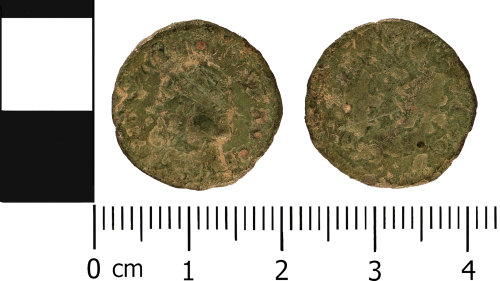 WMID-63847E: Roman coin: Radiate of Allectus