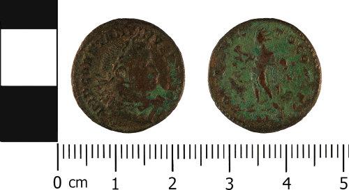 WMID-63DAD2: Roman coin: Nummus of Constantine I