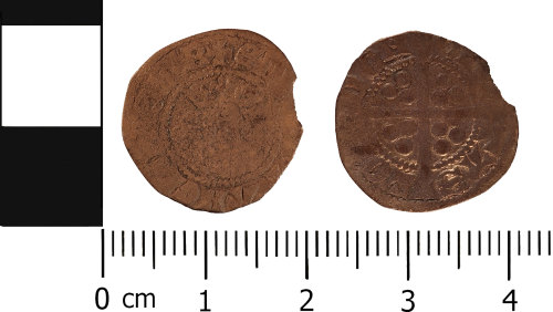 WMID-65B513: Medieval coin: Penny of Edward I, London Mint