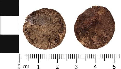 WMID-672947: Post medieval coin: Probable Half groat of Elizabeth I