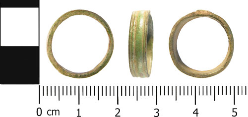 WMID-84C9AD: Medieval to Post Medieval: Complete finger ring