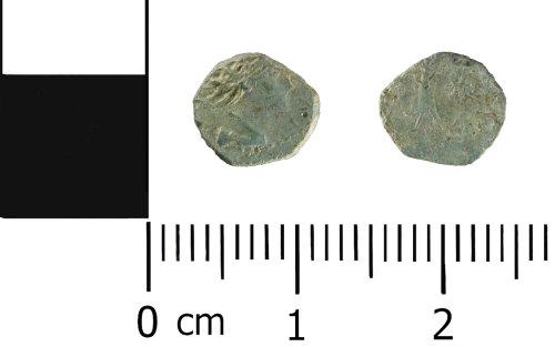 WMID-89412B: Roman coin: Contemporary copy of a radiate