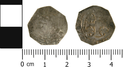 WMID-914626: Medieval coin: Complete penny of Henry II