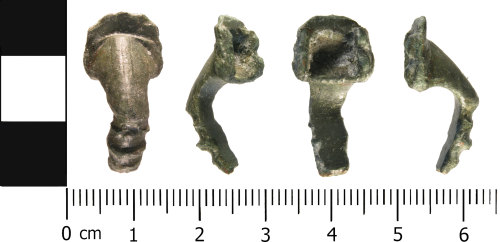 WMID-96FC31: Roman: Incomplete Trumpet style brooch