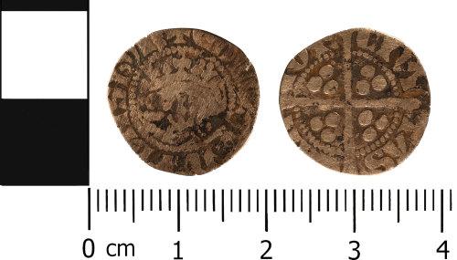 WMID-973EC6: Medieval coin: Penny of Edward I, Canterbury Mint