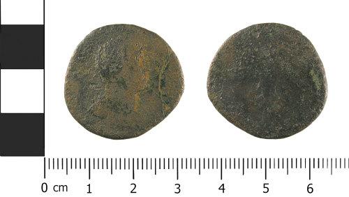 WMID-9A30FA: Roman coin: As of uncertain Emperor