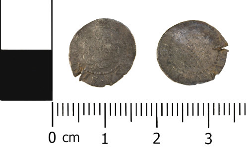 WMID-A08EC8: Post medieval coin: Penny of James I