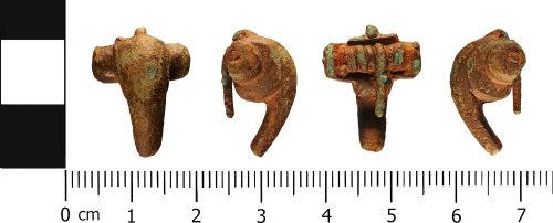WMID-A889FF: Roman: Incomplete Polden Hill brooch