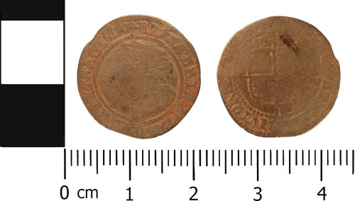 WMID-ABD0AD: Post medieval coin: Threepence of Elizabeth I
