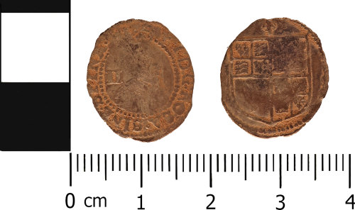 WMID-AC2093: Post medieval coin: Halfgroat of James I