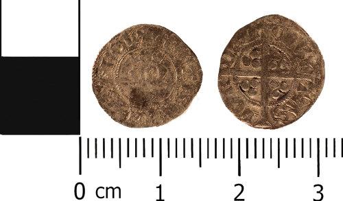 WMID-AC5645: Medieval coin: Halfpenny of Richard II