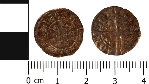 WMID-AC972E: Medieval coin: Penny of Edward I