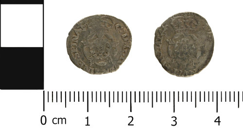 WMID-CD33B6: Post Medieval coin: Half groat of Charles I