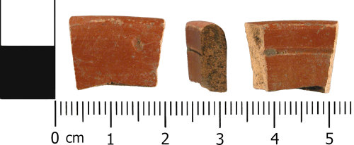 WMID-DEC61C: Roman: Incomplete samian vessel