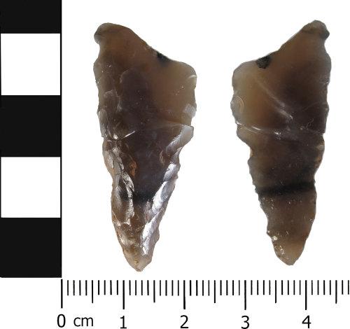 HESH-B6FB61: Neolithic: Incomplete knife
