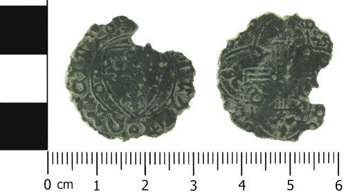 LVPL-214033: Medieval: Tournai stock jetton of Charles VI or Charles VII of France