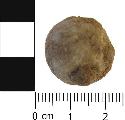 LVPL-2CC1D7: Post medieval: Musket / Pistol ball or shot