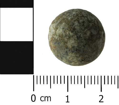 LVPL-35BD71: Post Medieval: Shot / Musket ball