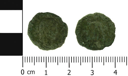 LVPL-3C8743: Roman coin: Nummus of Gratian