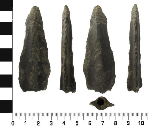 LVPL-B52337: Middle to Late Bronze Age: Socketed Spear head