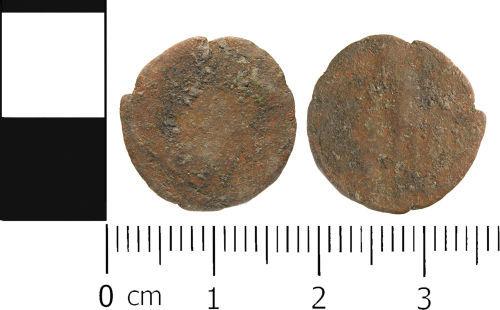 WMID-4F4344: Roman coin: Nummus of House of Valentinian