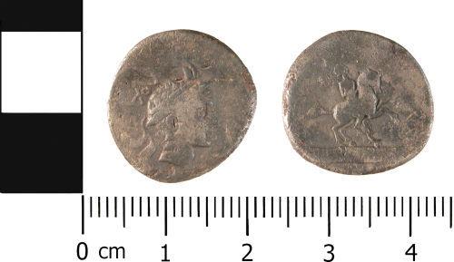 WMID-53D814Z: Roman coin: Republican Denarius of L. Marcius Philippus