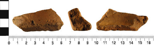WMID-72BFE6: Medieval: Ceramic jug vessel fragment