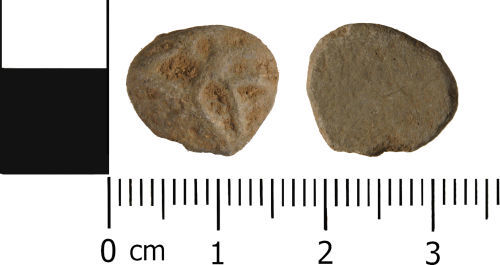 WMID-AE0DEF: Medieval to Post Medieval: Complete unifaced lead token