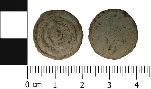 A resized image of Late Medieval to Early Post Medieval: Lead unifaced token