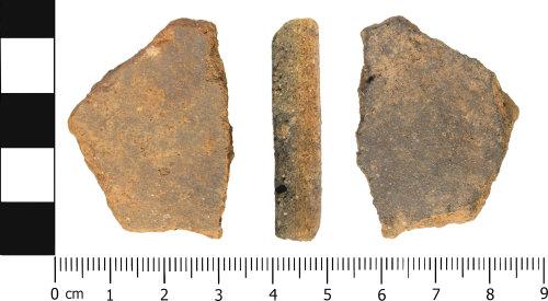 WMID-64936B: Medieval: Incomplete ceramic vessel