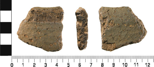 WMID-83D02F: Late Iron Age to Early Roman: Incomplete ceramic vessel